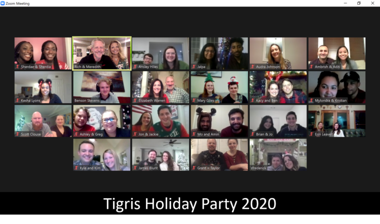 Tigris Holiday Party 2020